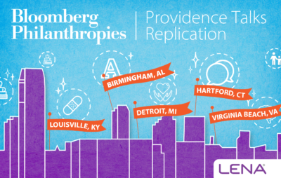 Providence Talks to be Replicated in 5 New Cities
