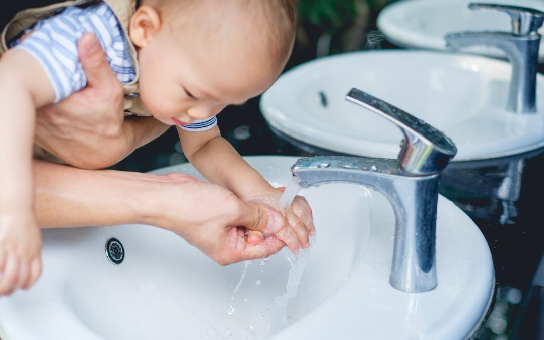 How to Wash Your Baby's Hands